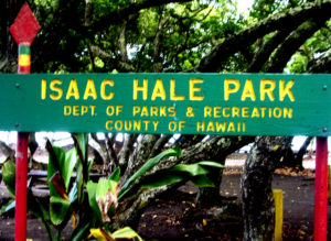 isaac-hale-beach-park-sign